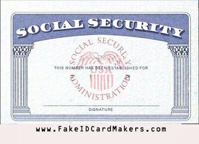 Usa Social Security Card Template Psd Ssn Psd Generator Social Security Card Card Template Security