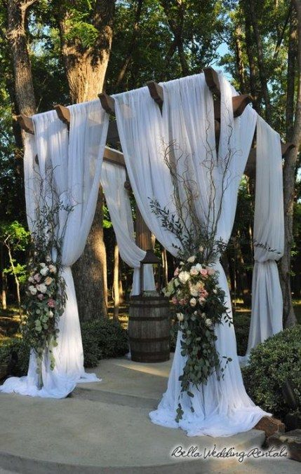 Best Pergola Wedding Decorations