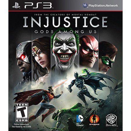 Injustice Gods Among Us Ps3 Walmart Com Injustice Justice League Of America Batman Arkham City