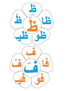 هابي كيدز عندي فكرة طريقه عمل حديقة الحروف لتفرقة بين الحركات الطويلة و القصيرة Arabic Kids Arabic Alphabet Alphabet Activities