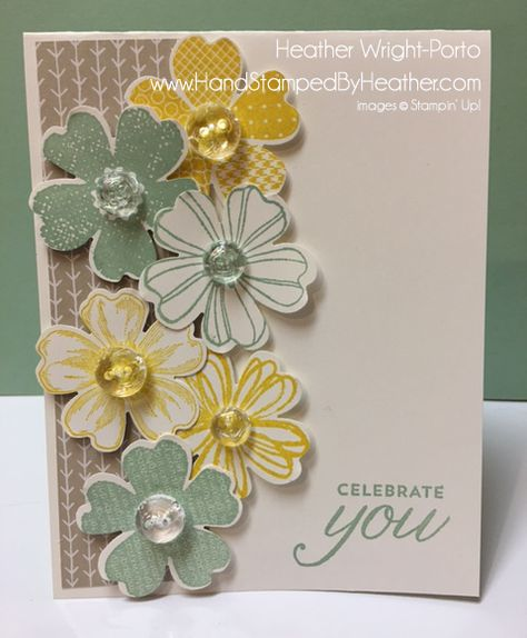 Hand Stamped By Heather Wright-Porto: Happy Stampers Color Challenge