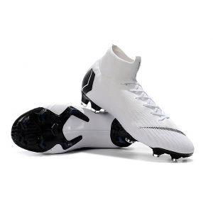 Nike Mercurial Superfly 360 FG White Black   Superfly soccer