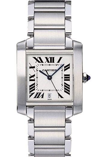 d264c64b96bc Cartier Tank Francaise Mens Wristwatch Model  W51002Q3