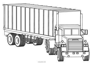 Free Printable Truck Coloring Pages For Kids Truck Coloring Pages Cars Coloring Pages Coloring Pages For Kids