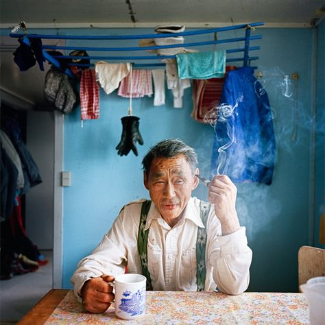 """Tumas by Tiina Itkonen; 1998 Greenland in """"Portraits of Place: The Arctic in Photographs"""" at Anchorage Museum"""