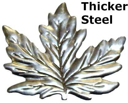 Metal Stamping L40 Small Silver Maple Leaf Approx 032 Steel Thickness Thickness Of A Credit Card Als Silver Maple Leaf Metal Stamping Metal Working Tools