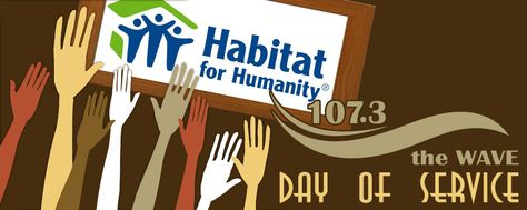 Help us beautify Cleveland Habitat's ReStore with First Federal of Lakewood.  Volunteer for our Day Of Service this Saturday.   This year we will help beautify the Restore; painting, reorganizing and cleaning. The goal is to make it more like a furniture/appliance store than a warehouse. We will have 2 shifts to accommodate everyone's schedule. Please choose 9am-1pm, 1pm-4pm, or for the super workers 9am-4pm! Everyone that volunteers is registered to win $100 to Georgetown Restaurant in Lakewood
