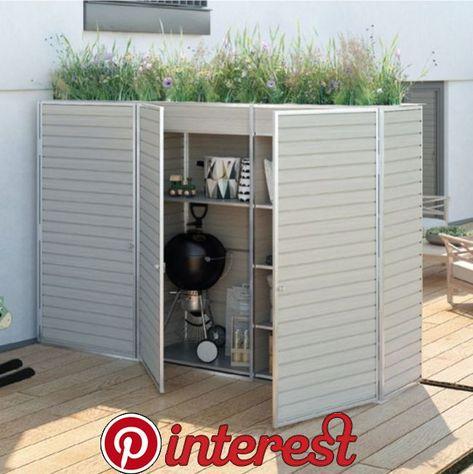 Terrace Cupboard Custom Made Balcony Cabinet By Design Garten