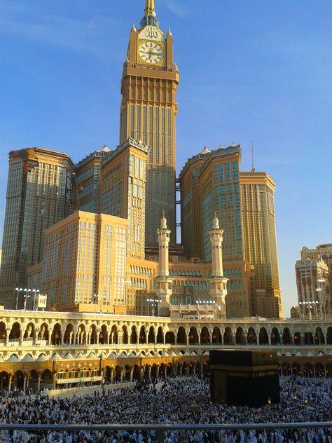 mecca clock tower #KSA