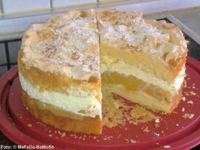 Apfel-Baiser-Torte - Rezept - kochbar.de