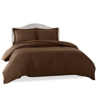 Alwyn Home Super Soft Bedding Duvet Cover Set In 2020 Bed Duvet