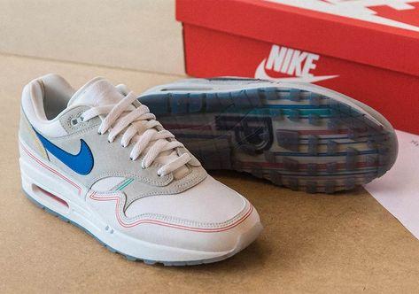 Shop Nike Air Max 1 Centre Pompidou Mens Womens AV3735 002