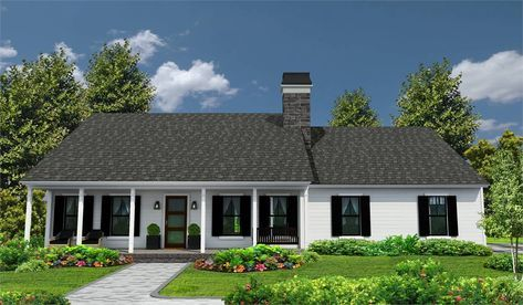 One Story Ranch Style House Plan 4309 Southern Trace Ranch Style House Plans Ranch Style Homes Ranch House Designs