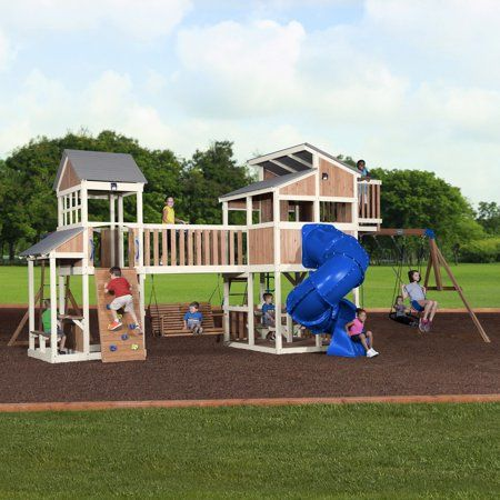 Toys Wooden Swing Set Swing Set Backyard Playground