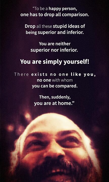 There is no one like you - you've come home - Osho Great art and craft kits…