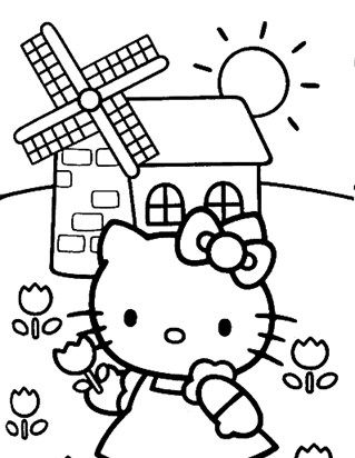 Hello Kitty Coloring Page Coloring Page Hello Kitty Coloring Kitty Coloring Hello Kitty Colouring Pages