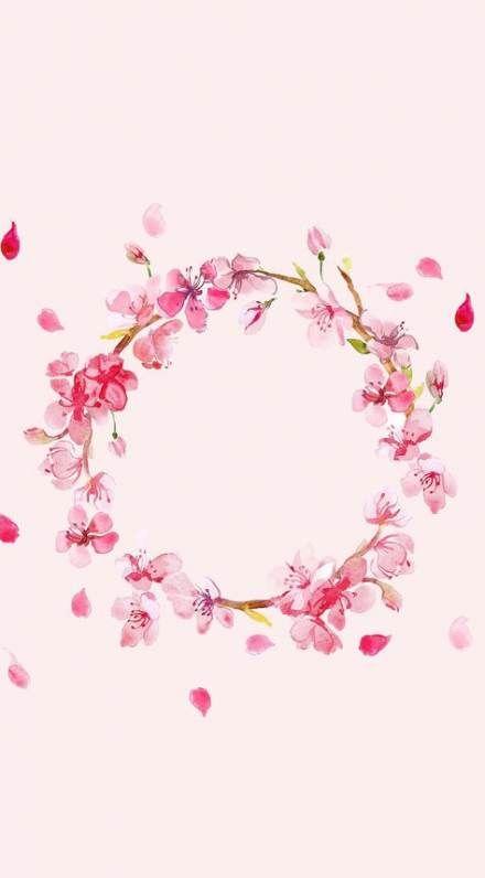35 Trendy Drawing Ideas Flowers Cute Flower Background Wallpaper Flower Wallpaper Flower Frame