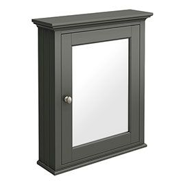 Old London Traditional Mirror Cabinet 650mm Wide Charcoal With Images Traditional Bathroom Furniture Bathroom Cabinets For Sale Bathroom Mirror Cabinet