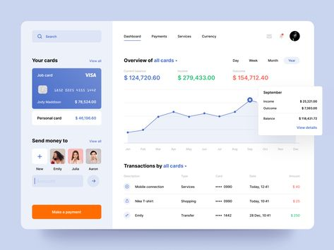 Banking web application