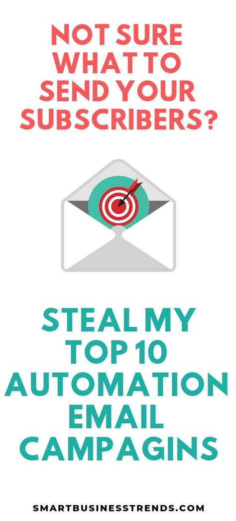 10 Marketing Automation Email Campaigns You Need to Steal
