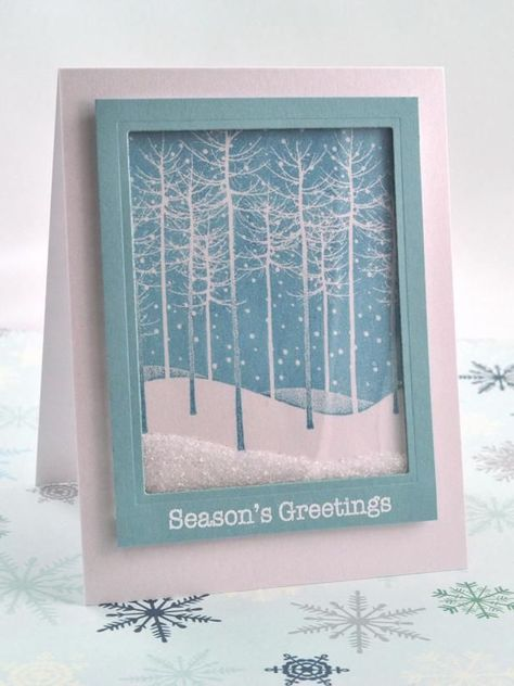 The craft experts at HGTV.com share step-by-step instructions for a snowglobe-style handmade holiday shaker card.