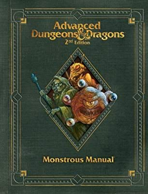 Premium 2nd Edition Advanced Dungeons Dragons Monstrous Manual