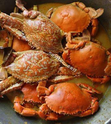 Kare Kepiting Rajungan Kepiting Resep Masakan Makanan Enak
