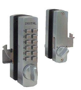 Keyless Locks Mechanical Keyless Locks Glass Door Lock Bolt