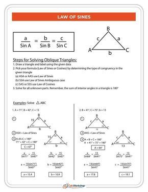 What is the Law of Sines? (Simply Explained with 4 Examples