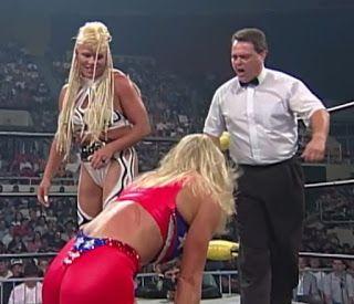 WCW Slamboree 1997 - Luna Vachon vs. Madusa | Wcw, Wrestlemania 1, Wrestling