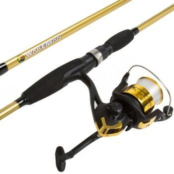 Trademark Global Fishing Rod And Reel Combo By Wakeman
