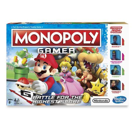 Monopoly Gamer Board Game Ages 8 And Up Walmart Com In 2021 Monopoly Game Monopoly Family Board Games