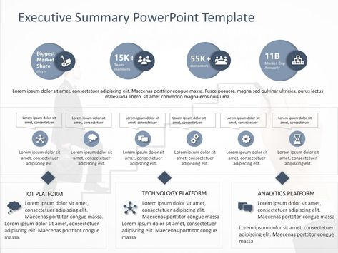 Executive Summary PowerPoint Template 39