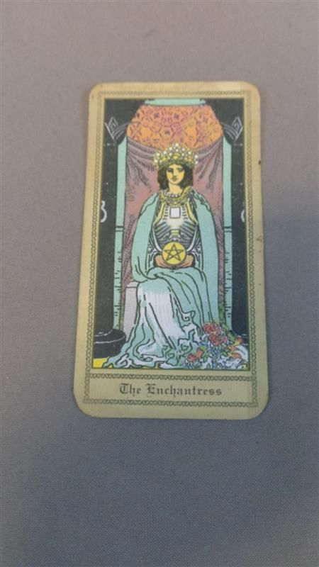 The Enchantress I Purchased These Witches Of East End Tarot Cards