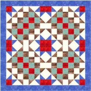 Bullseye quilt pattern and tutorial from Ludlow Quilt and Sew