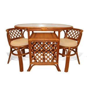 23++ Rattan dining table set Best