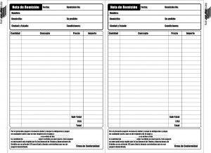 Nota De Remisión Para Imprimir Imprimir Sobres Plantilla De Notas Ejemplos De Notas