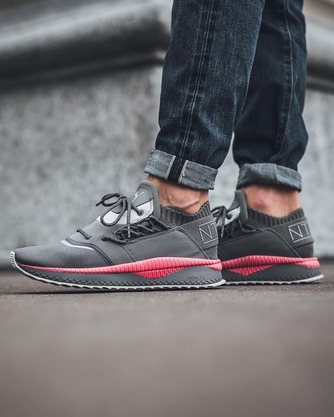 PUMA x STAPLE NYC TSUGI SHINSEI SMOKED PEARL GREY PINK