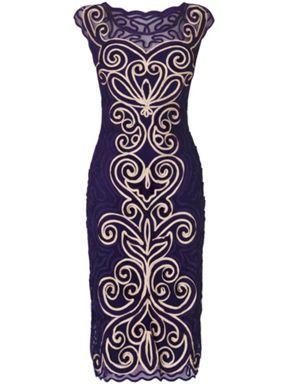 Phase Eight Isabelle tapework dress Multi-Coloured - House of Fraser