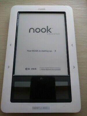 Barnes Noble Nook White Ereader 1 3gb Wifi In 2020 Ereader Nook Barnes And Noble