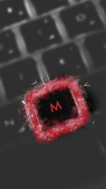 Download Letter M Wallpaper By 7mod 77 99 Free On Zedge Now Browse Millions Of Popular Keyboard Wallpapers In 2021 Name Wallpaper Lettering Cute Emoji Wallpaper