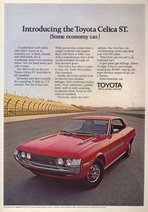 Toyota Celica Toyota Celica Toyota Classic Cars