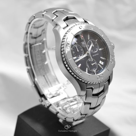 This evening we present an in mint condition pre-owned TAG Heuer Chronograph, which is available for just €1.000,-! Check out our Facebook page for more pictures and information about this offer! #qpexclusievehorloges #qpx #amsterdam #link #chronograph #watches #horloes #tagheuer