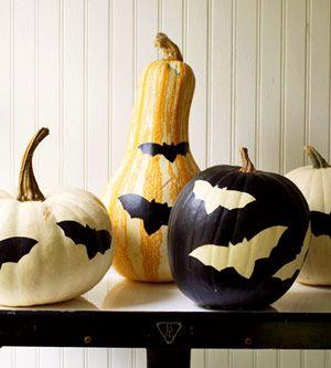 Painted Pumpkin #Halloween