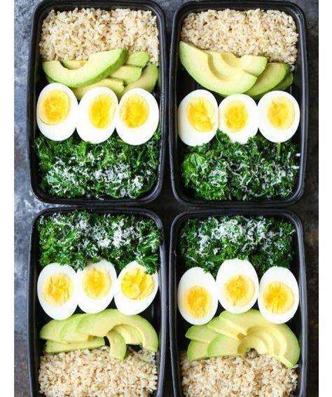 opciones para un almuerzo saludable