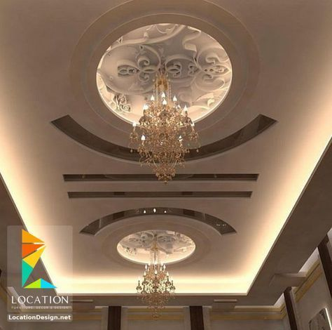 احدث افكار ديكور جبس اسقف الصالات و الريسبشن 2017 2018 False Ceiling False Ceiling Living Room Bedroom False Ceiling Design
