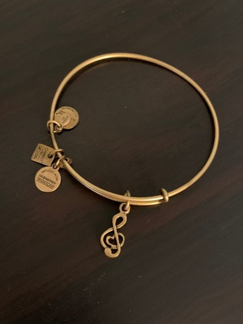 Alex And Ani Treble Clef Music Bracelet
