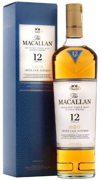 Whisky Macallan Triple Cask Matured 12 Anos Whisky De Malta
