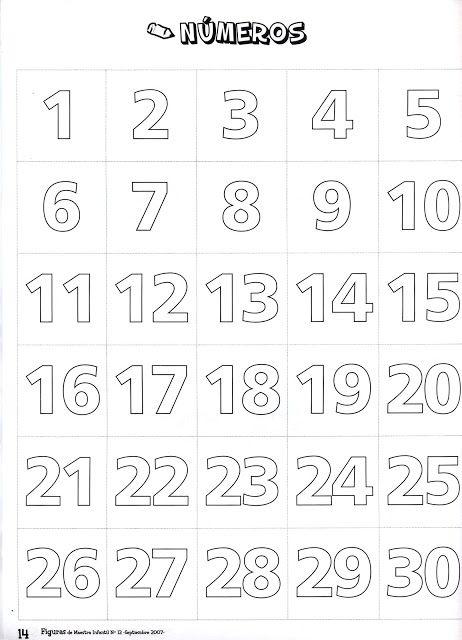 Hojas De Trabajo De Los Numeros 1 Al 20 Buscar Con Google Reconocimiento De Letras Moldes De Numeros Juegos De Matematicas Preescolares
