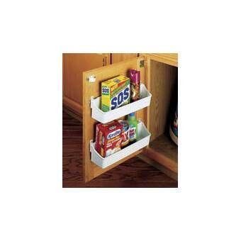 Cookware Organizer Hook With Images Cabinet Door Storage Door